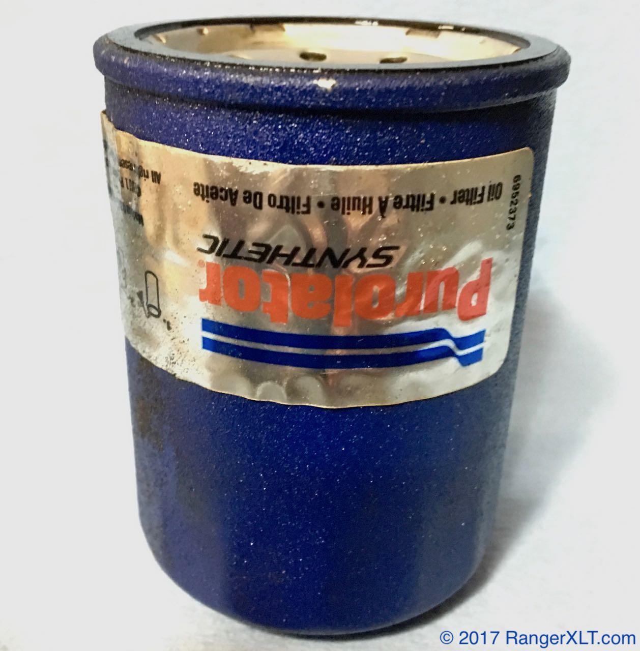 Cut Open] Purolator Synthetic PSL14610 - 5,729 mi - Bob Is