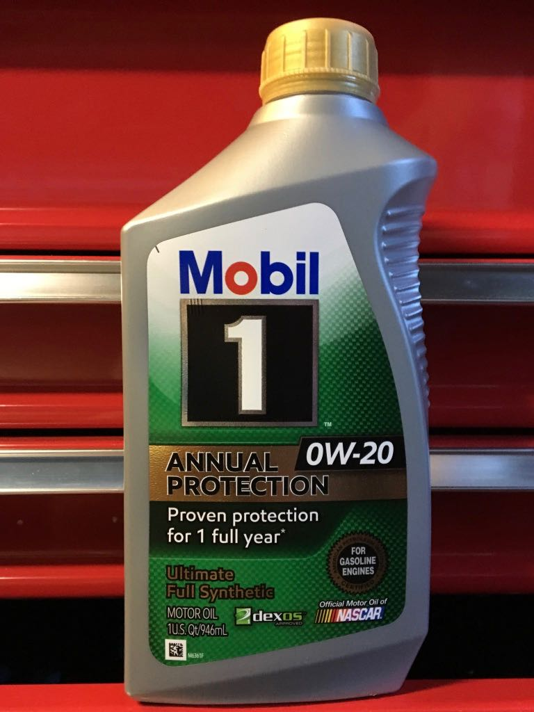 Mobil 1 0W/20 Annual Protection Virgin Oil - Bob Is The Oil Guy